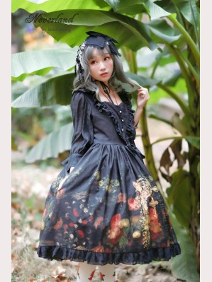 Souffle Song Flower-choosing Girl Lolita Dress OP