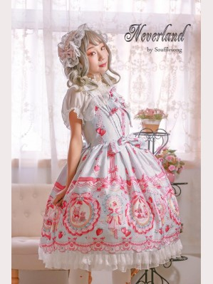 Souffle Song Strawberry Rabbit Lolita dress JSK (SS900)
