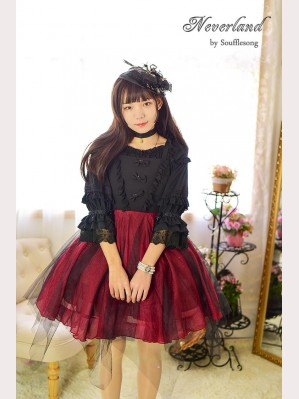 Souffle Song Undead soul restricted area lolita dress JSK