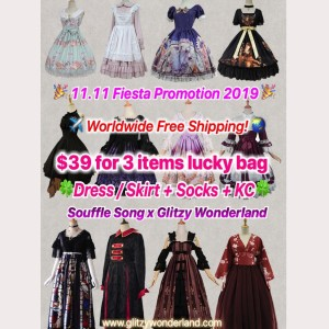 Souffle Song Lucky Bag (3 items)