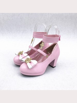 Crown & Cross Lolita Shoes