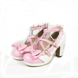 Cross Straps Lolita Shoes