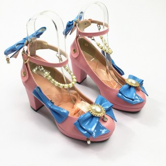 Bow & Beading Lolita Shoes