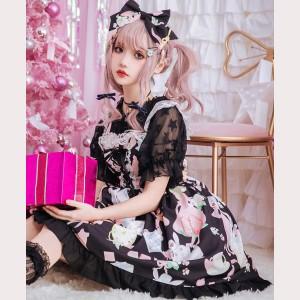 Stars Summer Crop Top Lolita Blouse (BS20)