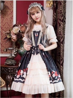 Love Letter & Rose Classic Lolita Dress JSK (K12)