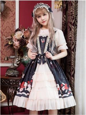 Love Letter & Rose Classic Lolita Dress JSK (K12)