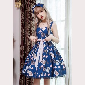 Poker Cards Lolita Dress JSK (D21)