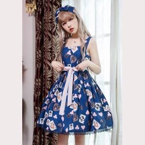 Poker Cards Lolita Dress JSK (D21)