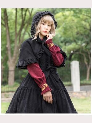 Danube Velvet Classic Lolita Cloak