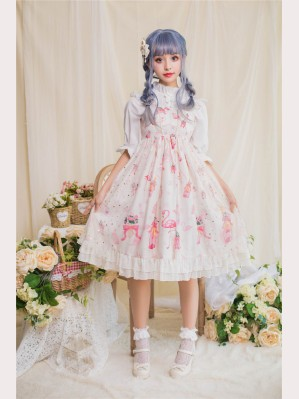 Flamingo sweet lolita dress JSK (DR07)