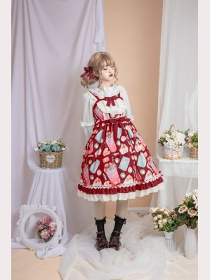 Sweet Dessert lolita dress JSK (DR06)