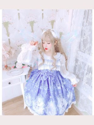 Diamond Honey Lily of the valley lolita dress JSK (DH139)