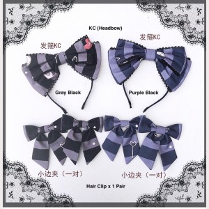 Diamond Honey Alice's Cat Sweet Lolita Matching KC or Hair Clips