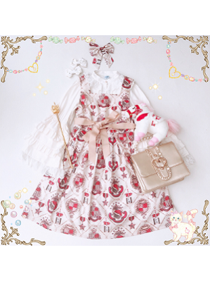 Diamond Honey Royal coat of arms Lolita Dress JSK