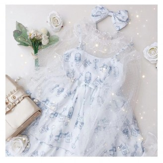 Diamond Honey Sweet Little Tailor Lolita Lace Blouse