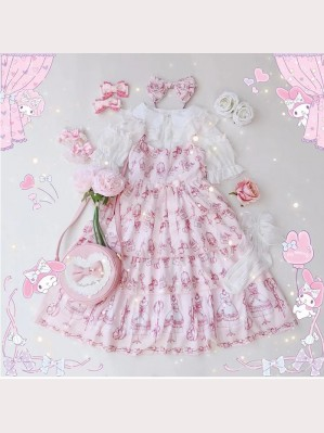 Diamond Honey Sweet Little Tailor Lolita Fashion Dress JSK