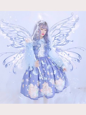 Diamond Honey Marine animals Sweet Lolita Dress JSK (DH158)