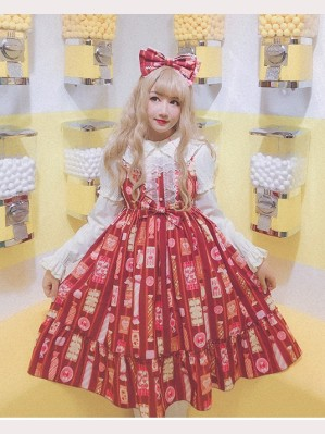 Diamond Honey Candy Shop Sweet Lolita Dress JSK (DH151)