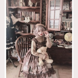 Diamond Honey Sweet Little Painter Lolita Dress JSK