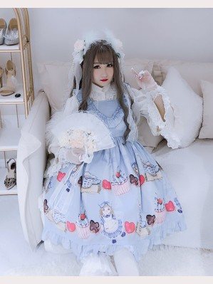 Diamond Honey Puppet Alice Sweet Lolita Dress JSK (DH149)