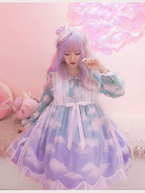 Diamond Honey see through Lolita overdress (DH146)