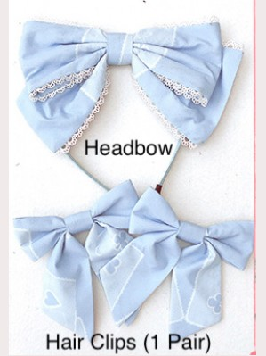 Diamond Honey Puppet Alice Sweet Lolita Matching Accessories