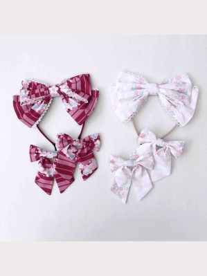 Diamond Honey Kimono Blossom Sweet Lolita KC / Hair Clips
