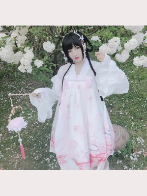 Diamond Honey Sakura Bunny Qi Lolita Dress (DH166)