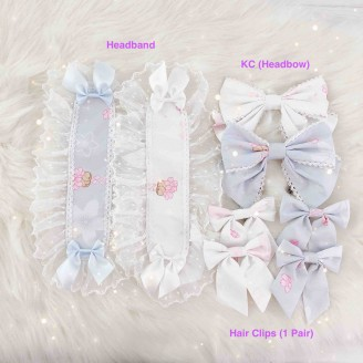 Diamond Honey Sakura Bunny Lolita Accessories (DH167)
