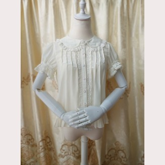 Orchid Lane Short Sleeves Dolly Lolita Blouse (OL3)