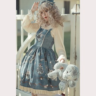 Infanta Broken Dolls Gothic Lolita Dress JSK (IN835)
