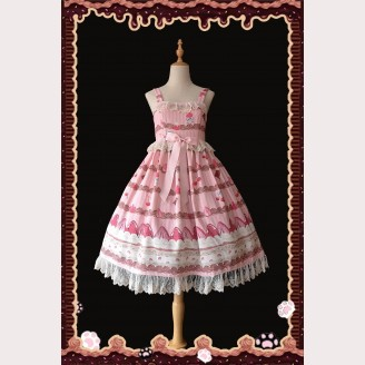 Infanta Crepe Cake Sweet Lolita Fashion Dress JSK