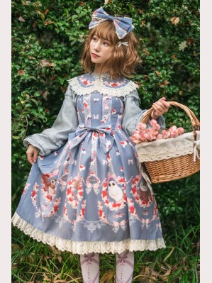Infanta Owls Lolita Dress JSK