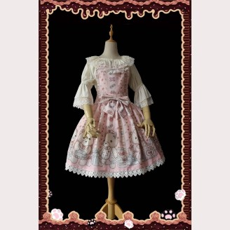 Infanta Bear Nurse Sweet Lolita Dress JSK (IN830)