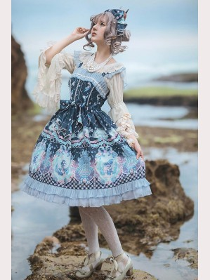 Infanta Little Mermaid Lolita Dress JSK
