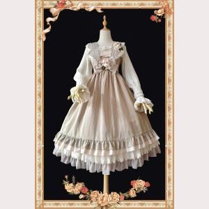 Infanta Striped Classic Lolita Vintage Full Set