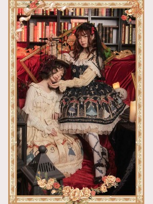 Infanta Marionette Classic Lolita Dress JSK (IN826)
