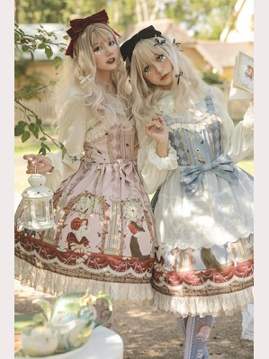 Infanta Alice Chronograph Tea Party Lolita Dress JSK & KC Set