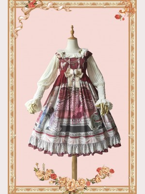 Infanta Opera House Classic Lolita Dress JSK (IN828)