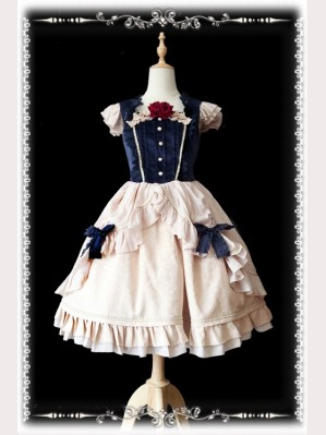 Infanta Disney Snow White Lolita Dress (New Version) (IN843)
