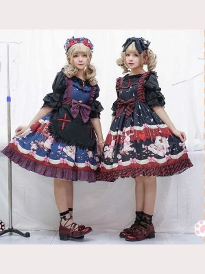 Infanta Hospital rabbit Lolita Dress JSK (IN842)
