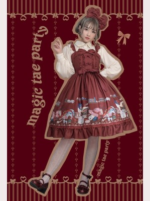 Magic Tea Party Handmade Girl's Hat Shop Lolita Dress JSK