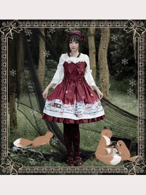 Magic Tea Party Buying Mittens Lolita Dress JSK