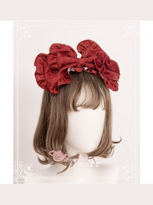 Magic Tea Party Handmade Girl's Hat Shop Lolita Headbow KC