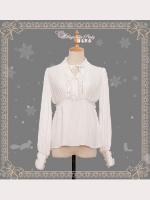 Magic tea party Handmade Girl's Hat Shop Lolita Blouse