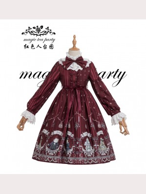 Magic Tea Party Rose Knight Lolita Dress OP