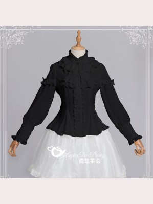 Magic Tea Party Rose Knight Lolita Blouse