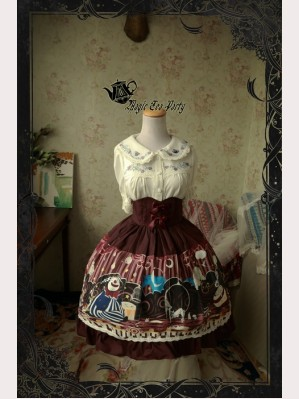 Magic Tea Party Circus Girl Lolita Skirt SK