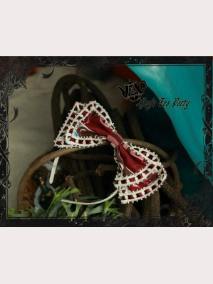 Magic Tea Party Circus Girl Lolita Headbow KC