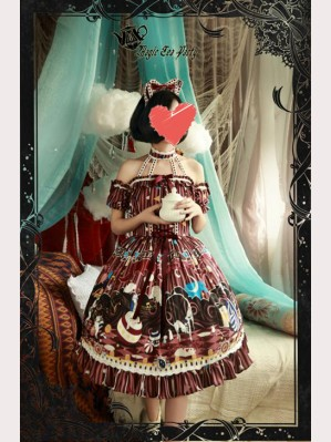 Magic Tea Party Circus Girl Lolita Dress JSK